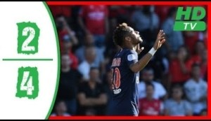 Video: Nimes vs Paris Saint Germain 2-4 2018 All Goals & Highlights